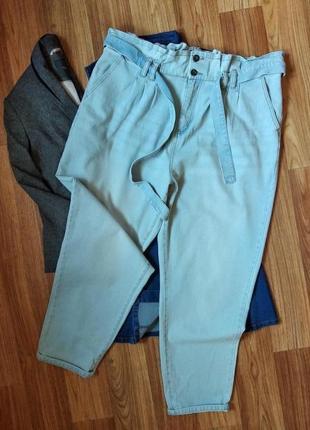Актуальные джинсы с высокой посадкой большого размера, размер 20