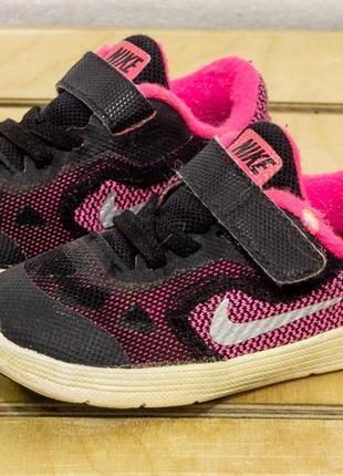 Nike revolution 3 22-  13 см кроссовки на девочку