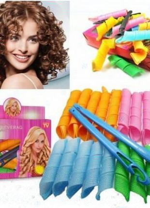 Бигуди magic leverag для волос 18 шт комплект