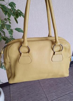 Очень крутая сумка из мягусенькой натуральной кожи от boden, индия, оригинал