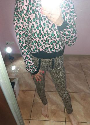 Брендовые брюки-лосины