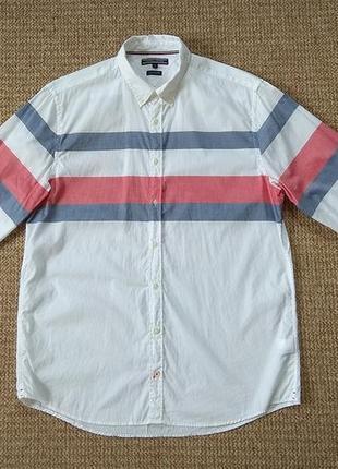Tommy hilfiger рубашка оригинал (xl)
