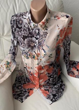 Шикарная блузка guess разм xs-s