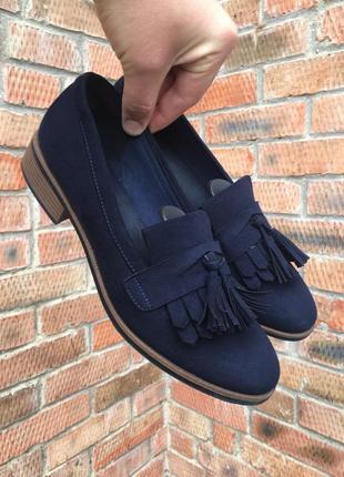 Женские туфли, лоферы graceland размер 41 (26,5 см.)