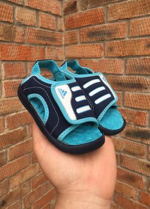 Детские босоножки adidas akwah 5 размер 21 (14 см.)