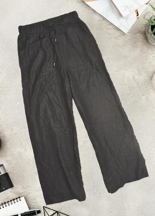 Черные кюлоты на резинке lianqian