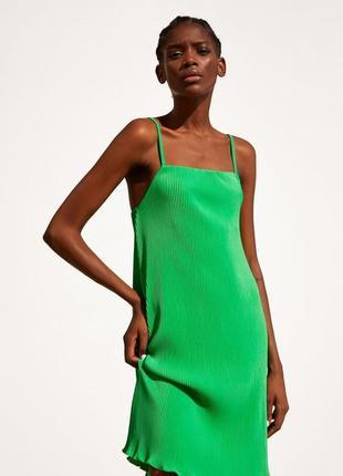 Лёгкое весенне летнее платье от zara.