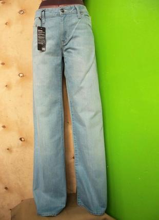Широкие джинсы lee alamo woman w30 l 33