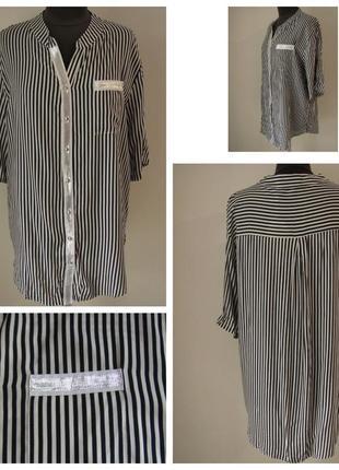 Изящная рубашка из новой весенне-летней коллекции р.56,58,60,62 код 3310м