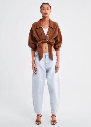 Zara джинсы slouchy2 фото