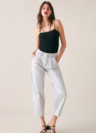 Zara джинсы slouchy3 фото