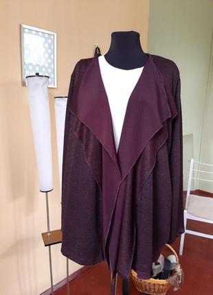 Пиджак накидка двойной