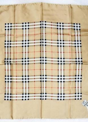 Шёлковый платок *burberry*