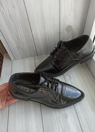 Нереальные лоферы оксфорды туфли