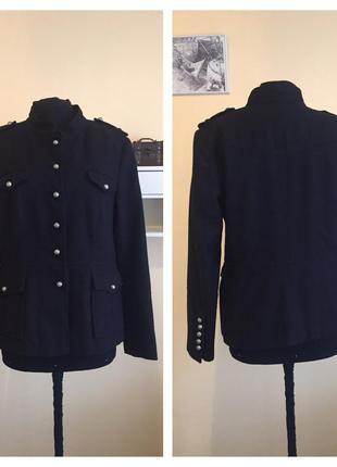 Пальто пиджак в стиле милитари