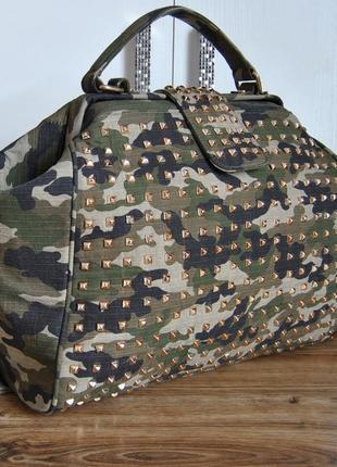 """Большая брендовая сумка mia bag """"doctor bag"""" / сумка саквояж 👜👜👜"""