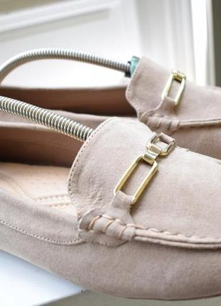 Туфли мокасины лоферы балетки лодочки на широкую р.43 28,1 см