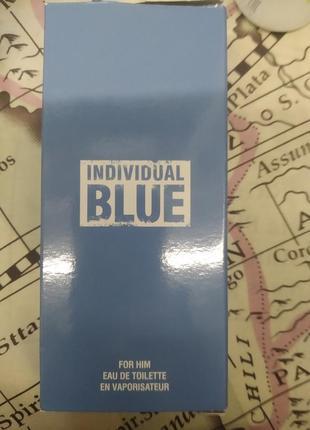 Туалетна вода individual blue avon
