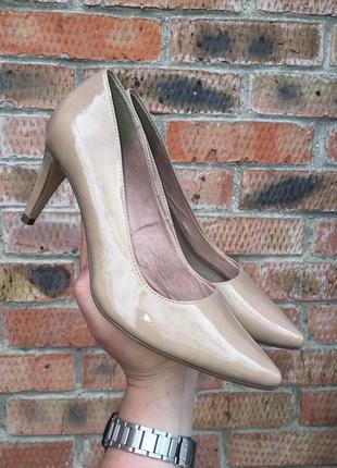 Туфли лодочки tamaris размер 41 (26 см.)