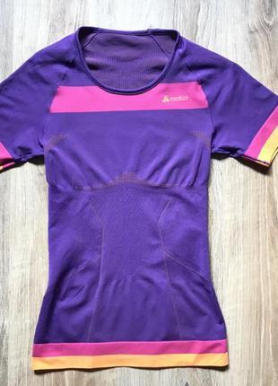 Спортивная компресионная футболка термо беговая для зала бега