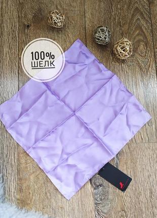 Dressman натуральный шелк платок косынка шарф