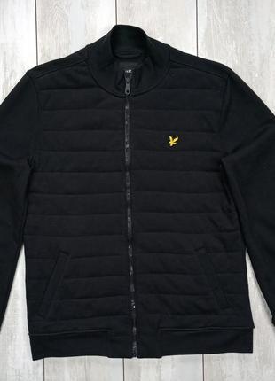 Бомбер ( куртка ) lyle and scott