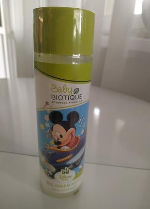 Детский шампунь без слез biotique bio green apple baby princess tearproof shampoo 190 мл
