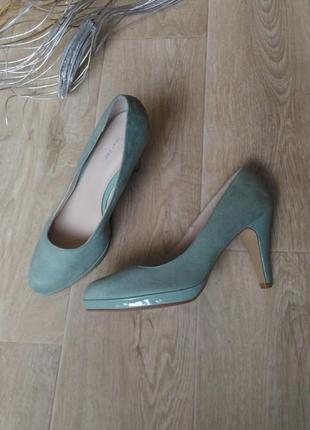 Туфли graceland мятные ментоловые бирюзовые, размер 41