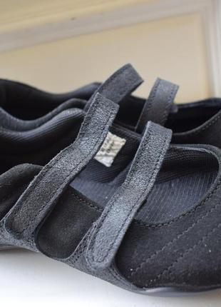Замшевые туфли балетки лодочки некст италия р.41 26,5 см
