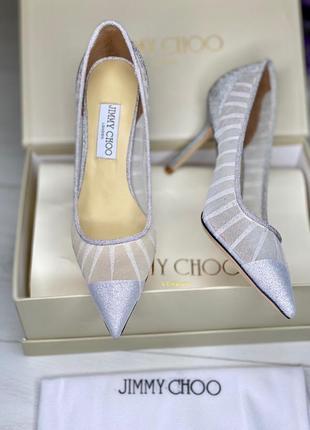 Женские туфли в стиле jimmy choo