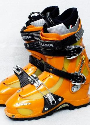 Scarpa unisex spirit 3 alpine touring ski boots р 43-44 стелька 27 см