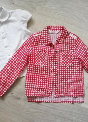 Набор рубашек для девочки 2-4 года