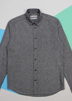 Классная твилловая рубашка с диагональной текстурой от cedarwood state