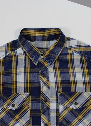 Неординарная рубашка с washed-эффектом от gap