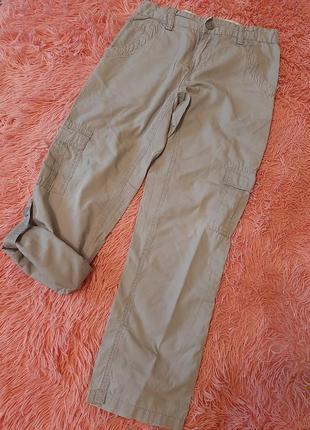 Стильные легкие штаны брюки летние мальчику тонкие штаны бриджи