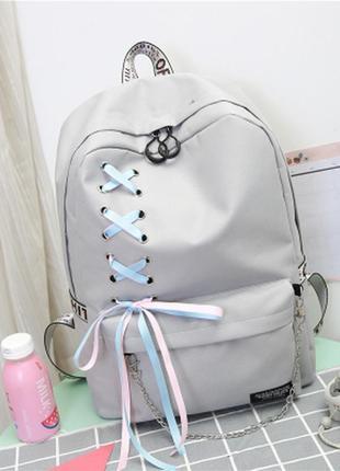 Молодіжний рюкзак стильний місткий 393