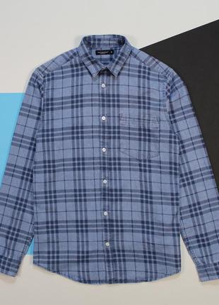 Интересная джинсовая рубашка с washed-эффектом от cedarwood state