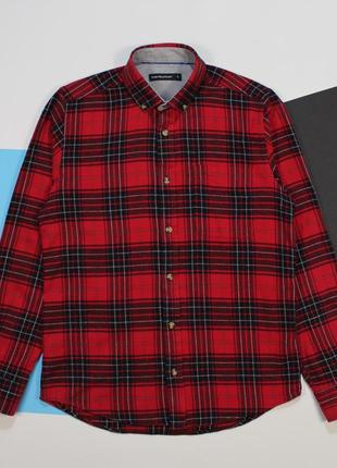 Сочная яркая байковая рубашка от cedarwood state