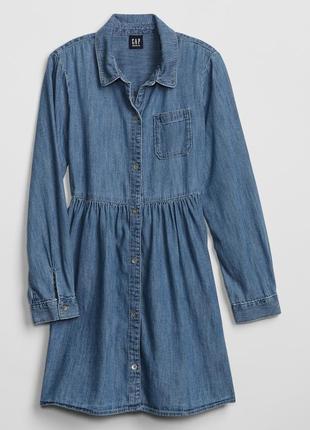 Платье джинсовое детское gap размер xl xxl для девочки  оригинал сша