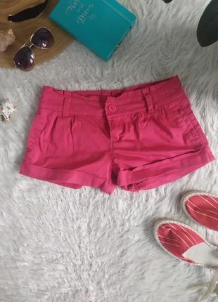 Яркие розовые фуксия шорты