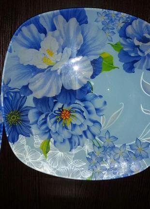 Блюдо для торта с лопаткой большое ( тортовница)