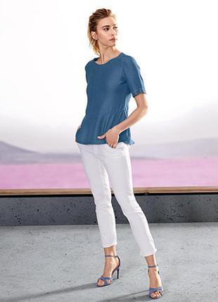 Стоп!❤эффектная блуза на любой фигуре от бренда tchibo, германия