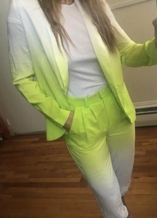 Шикарный пиджак блейзер модный фасон