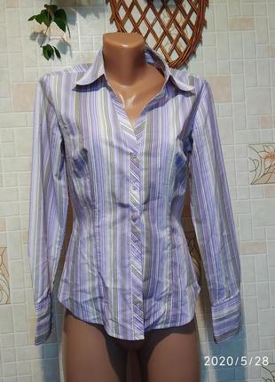 Рубашка в полоску 120