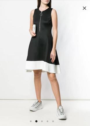 Платье с молнией dkny