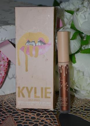Матовая помада для губ kylie cosmetics matte liquid lipstick