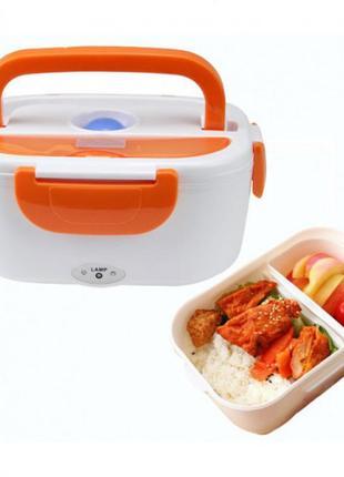 Термо ланч бокс с подогревом 220v для разогрева еды electric lunch box