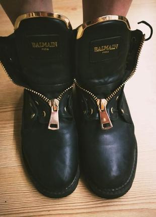 Супер кожаные ботинки
