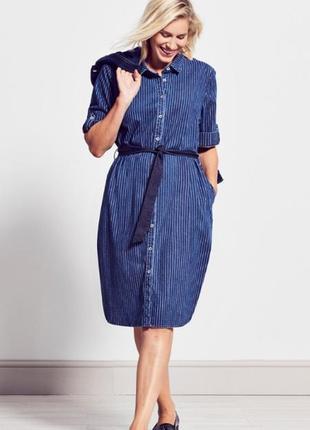 Джинсовое платье 24-28р marks & spencer