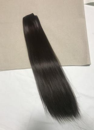 Треси , волосся на заколках{ штучне1 фото